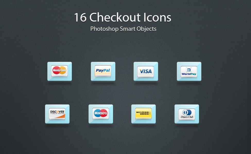 16 Checkout Icons