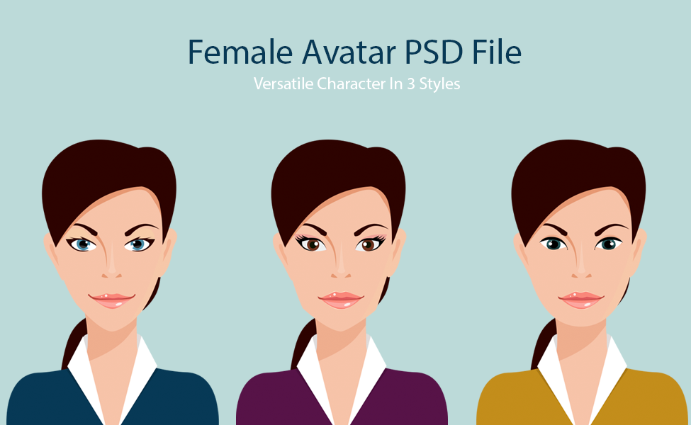 Versatile Female Avatars