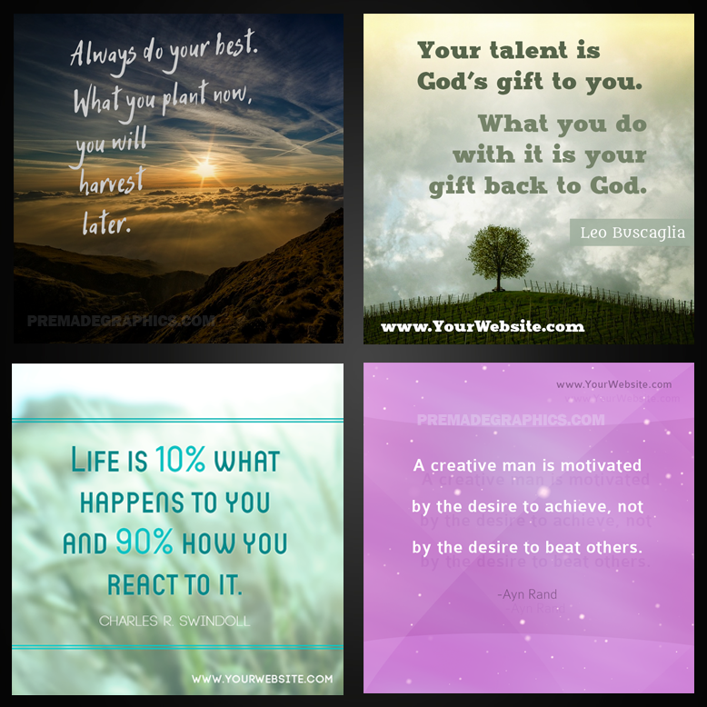 Viral Quotes Graphic Templates