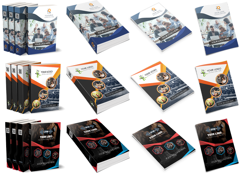 250+ 3D Ecover Templates