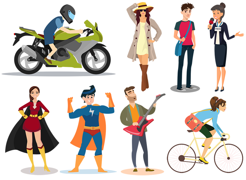 200+ Avatar Images – Editable and Royalty Free