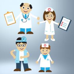 Cartoon Character Graphics - Medical