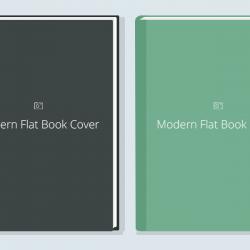 Flat Book Cover