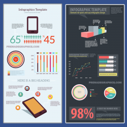 5 Infographic Templates in PSD Format