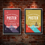 Mounted Posters